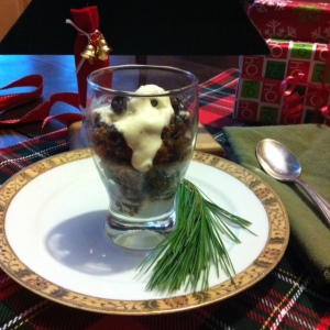 Half Portion Cole's Gluten Free Christmas Pudding